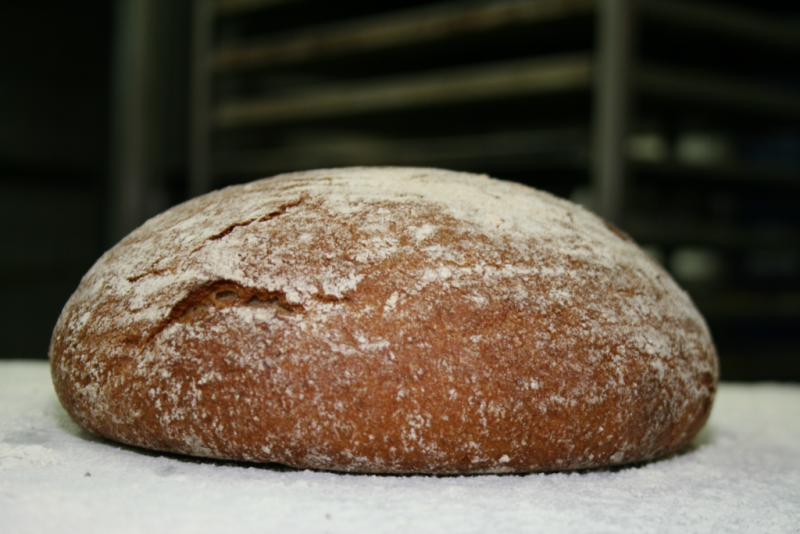 Kartoffel-Dinkel-Brot.