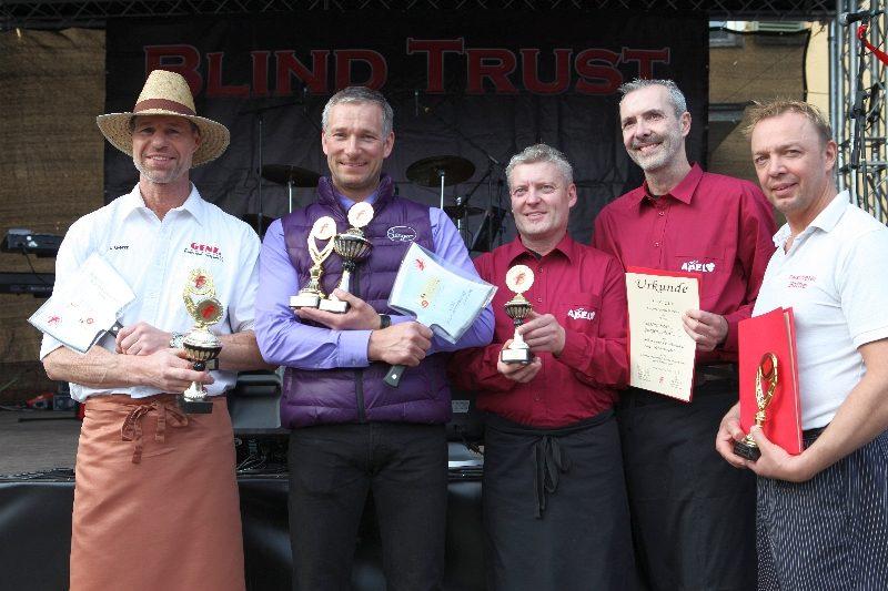 Bratwurstmeisterschaft Gewinner