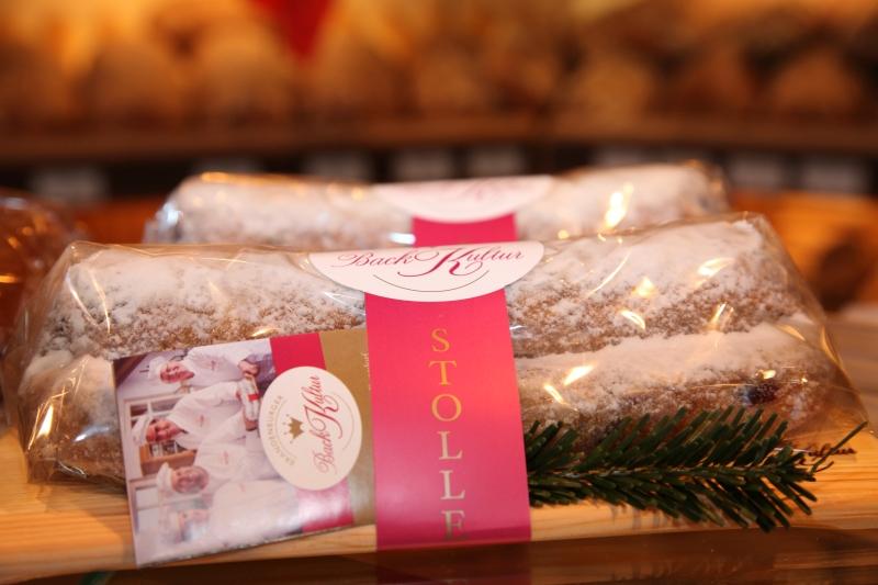 Weihnachtsstollen Bäckerei Plentz