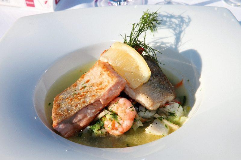 Raymons Restaurant Fischsuppe