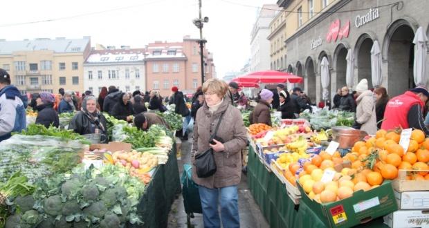 Wochenmarkt in Kroatien