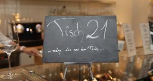 Tisch 21 im Restaurant Filetstück