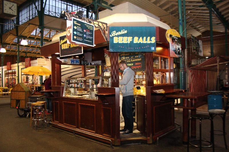 beef balls boulette markthalle neun aussen