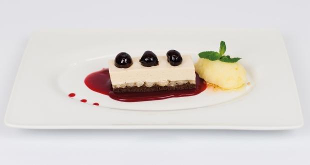 Dessert mit Schamel