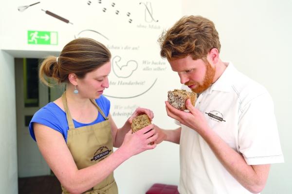 glutenefrei Jute Bäckerei