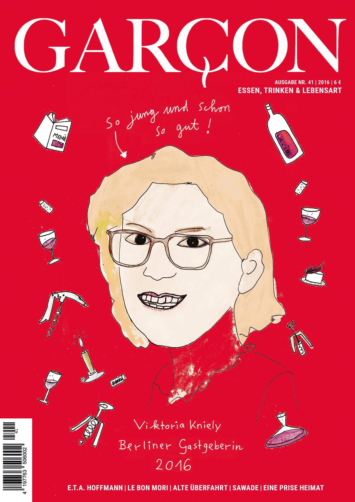 Magazin GARCON - Essen, Trinken, Lebensart, Ausgabe 41