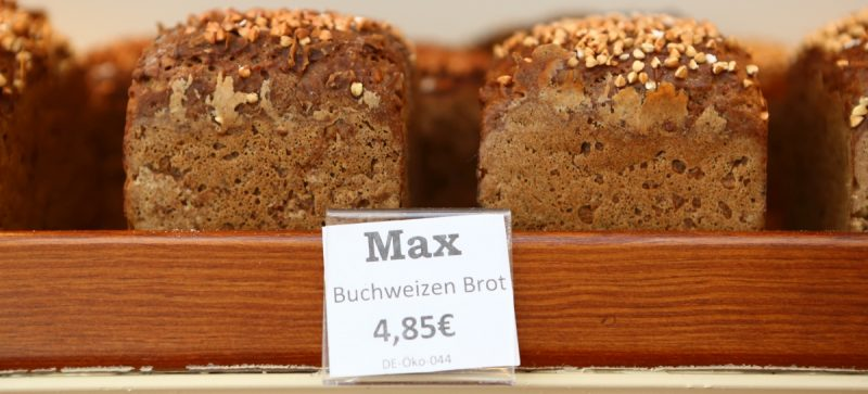 Glutenfreies Brot aus der Jute-Bäckerei