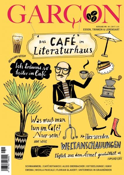 Magazin GARCON - Essen, Trinken, Lebensart Nr. 44 Cover