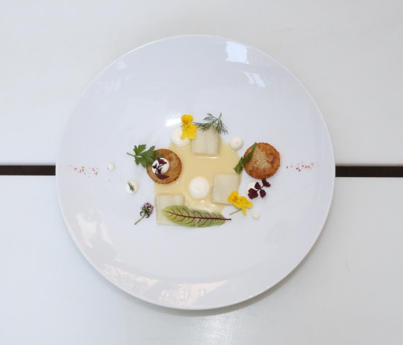 Florian Glauert DUKE Rostocker Forelle Gericht