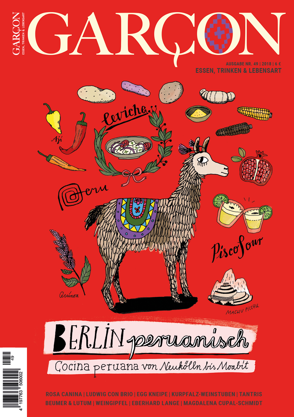Magazin GARCON - Essen, Trinken, Lebensart Nr. 49 - Cover