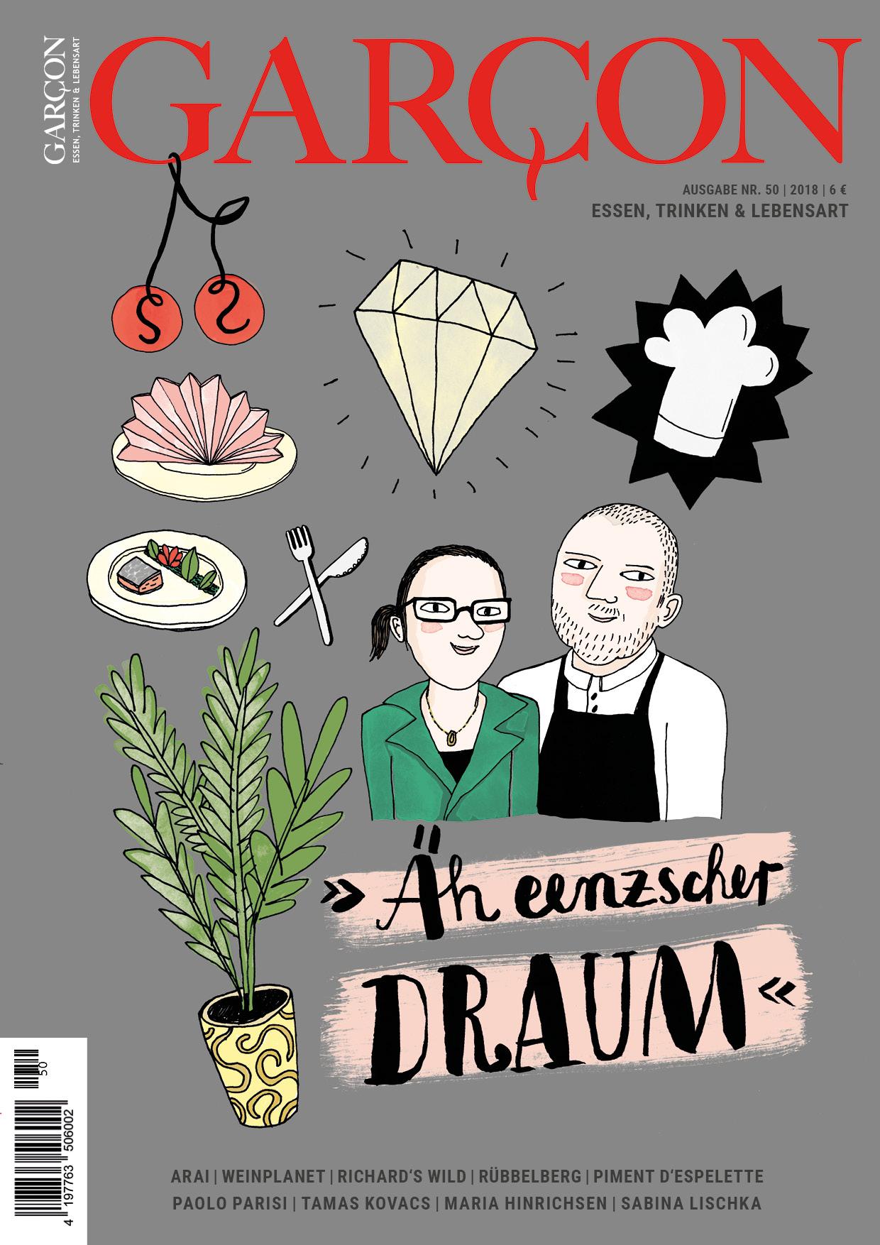 Magazin GARCON-Essen, Trinken, Lebensart Nr. 50