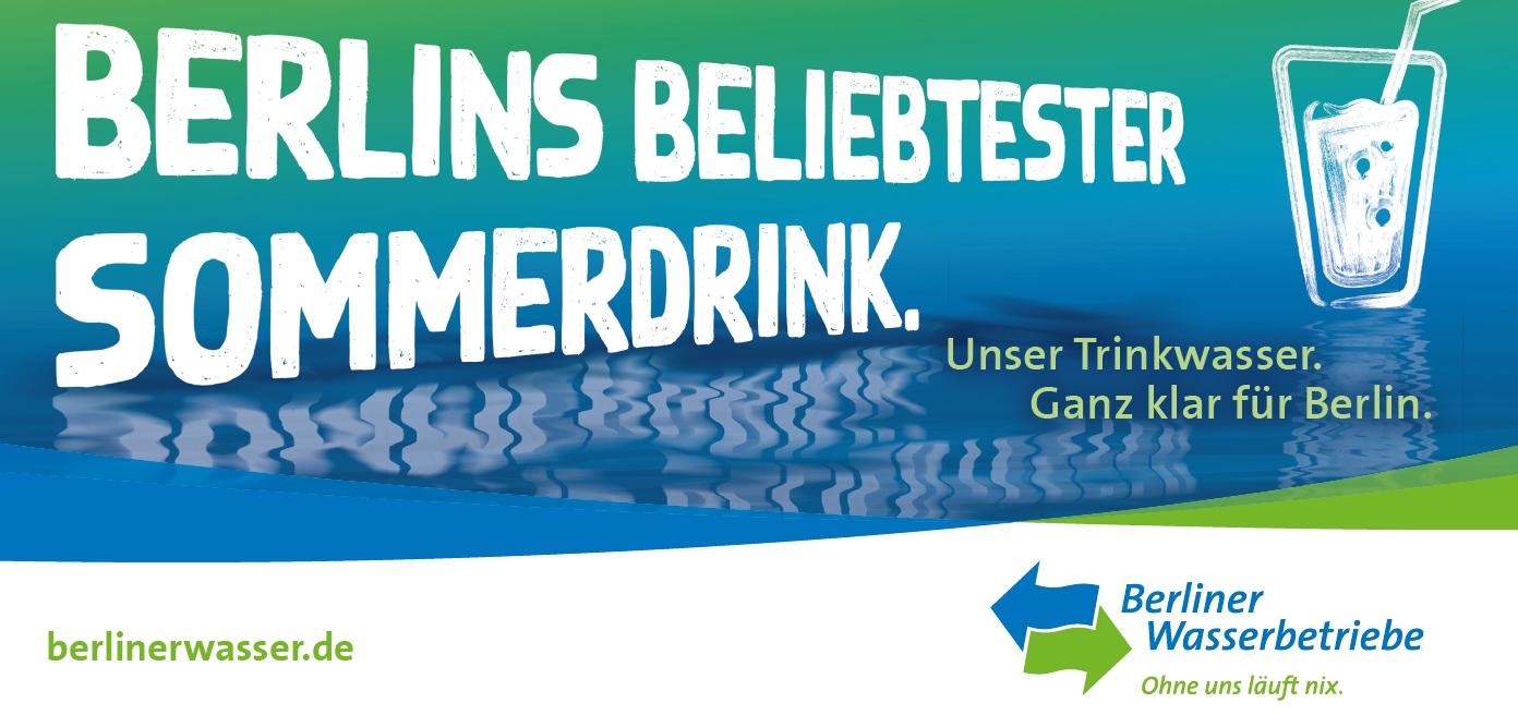 Berliner Wasser Banner